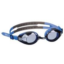 zwembril Arica polycarbonaat junior blauw/grijs