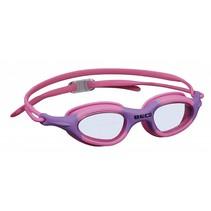 zwembril Biarritz polycarbonaat meisjes roze/lila