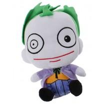 Gift-knuffel Joker pluche 15 cm paars/wit