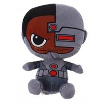 Gift-knuffel Cyborg pluche 15 cm grijs