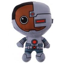 knuffel Cyborg pluche 18 cm grijs
