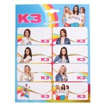 etiketten K3 8 stuks