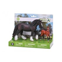paarden: speelset in giftverpakking 2-delig