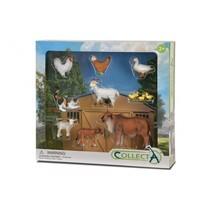 boerderijdieren Deluxe Window Box 8-delig