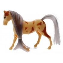 paard junior 10 cm geel/oranje