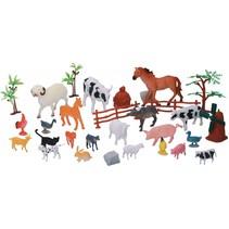 boerderijdierenset 30-delig