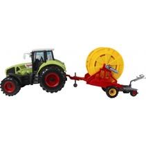 tractor speelset 2-delig 44 cm groen