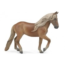 paarden Peruaanse merrie 16 cm bruin