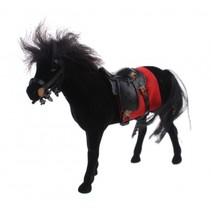 Love Horse paard 12 cm zwart