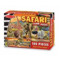 Safari vloerpuzzel 100 stukjes