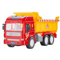 kiepwagen junior 28 cm rood/oranje