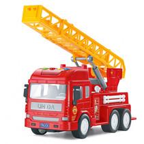 brandweerwagen junior 30 cm rood/oranje
