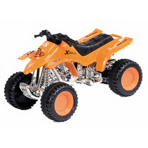 quad Modern City junior 12 cm staal oranje