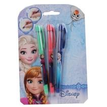 Disney Frozen uitwisbare gelpennen 3 stuks