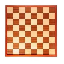 dam- en schaakbord ingelegd 42 x 42 cm