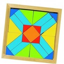 vormenpuzzel Een Wereld van Vormen junior hout 25 stukjes