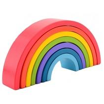 regenboog blokken 7-delig