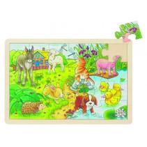 Puzzel: Kleine Jonge Dieren 24-Delig