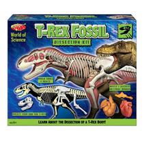 opgravingsset T-Rex jongens groen 2-delig