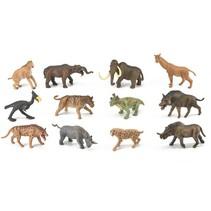speelset prehistorische zoogdieren 12 stuks