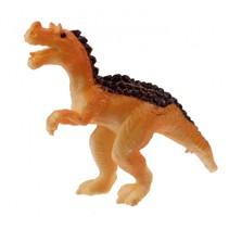 miniatuur dinosaurus 6 cm oranje/bruin