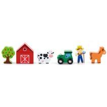 speelfiguren boerderij 6-delig