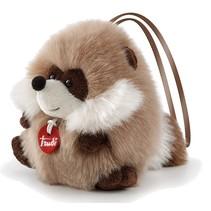 knuffel wasbeer bruin 11 cm