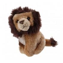 knuffel leeuw 14 cm bruin