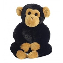 Knuffel Mini Flopsie Clyde chimpansee 20,5 cm