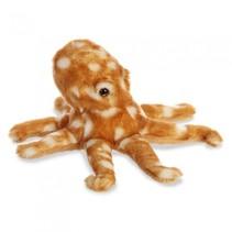 knuffel Mini Flopsie atlantische octopus 20,5 cm bruin