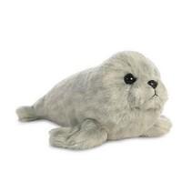 Knuffel Mini Flopsie zeehond grijs 20,5 cm
