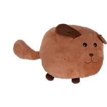 knuffel 36 cm hond bruin