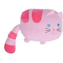 knuffel 36 cm poes roze