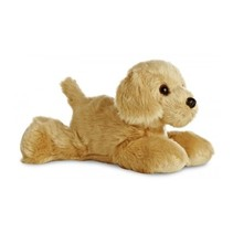 Knuffel Mini Flopsie golden retriever 20,5 cm