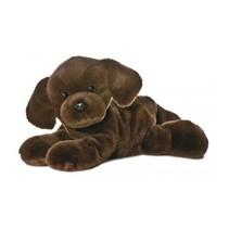 Knuffel Mini Flopsie Lil Labrador bruin 20.5 cm
