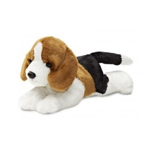Knuffel Mini Flopsie Homer beagle 20.5 cm