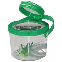 insectenvergrootglas kunststof 8 cm groen