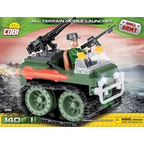 Small Army Mobile Launcher bouwset 140-delig 2161