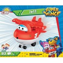 Super Wings bouwset Jett 90-delig (25126)