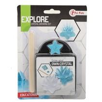 kristal kweekset blauw 17,5 cm