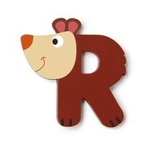 letter R beer bruin 5.5 cm