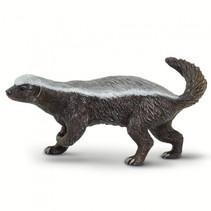 wilde dieren Honingdas junior 5,5 cm donkerbruin