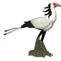 Wilde dieren secretarisvogel 11,4 cm