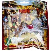 speelfiguur Wild West Power junior wit 2-delig