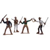 speelset Wild West 4-delig