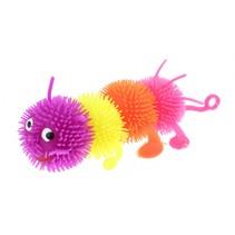 fluffy rups 18 cm met licht