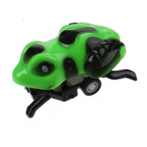 Insectenauto pull back Kikker 4,5 cm groen/zwart