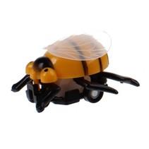 Insectenauto pull back Bij 4,5 cm geel/zwart