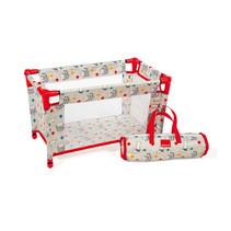 poppenbedje Cats & Dogs 52 x 28 x 32 cm rood