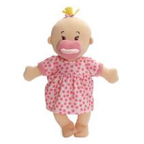 babypop Stella meisjes 30,5 cm textiel blank/roze 3-delig